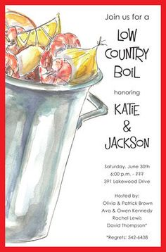 Outdoor Boil Invitat