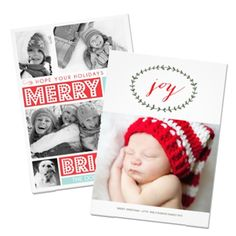 Unique Holiday Photo Cards // by Origami Prints #christmas #cute #family