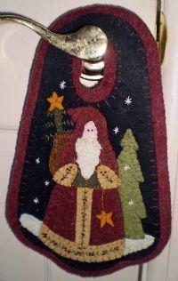 Belsnickle penney rug door hanger