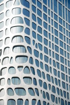 Conrad Hotel | Beijing, China | MAD Architects | #organic #geometric