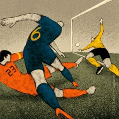 Varietats: History of FIFA World Cup by Davide Bonazzi