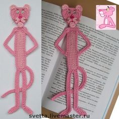 Pink Panther Bookmark.