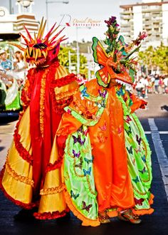 The Carnaval de Ponce (Ponce Carnival), is an annual celebration held in Ponce, Puerto Rico. The celebration lasts one week and it ends on the day before Ash Wednesday. It is one of the oldest carnivals of the Western Hemisphere, dating back to 1858. The Ponce Carnaval can be traced to as far back as 250 years ago.The Carnaval coincides with the Mardi Gras of New Orleans, the Carnival of Venice, and Rio de Janeiro's Carnival. The estimated attendance is 100,000. =)~