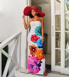 ZJFZML New 2017 brand high quality bandage dress women white strapless floral print dress sexy sleeveless side split maxi dress Denim Maxi Dress, Sheer Maxi Dress, Backless Maxi Dresses, Maxi Robes, Strapless Maxi, Floral Dresses With Sleeves, Plus Size Maxi Dresses, Tight Dresses, Sexy Dresses