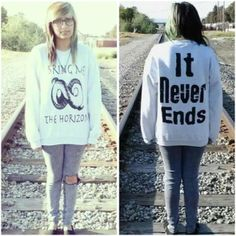 Bring Me The Horizon Crewnecks