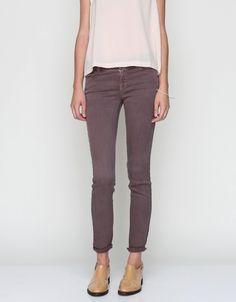 Twill Skinny In Pelt//J Brand