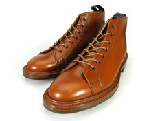 TRICKER'S M6077 MARRONANTIQUE 7HOLES MONKEYBOOTS LACEUP