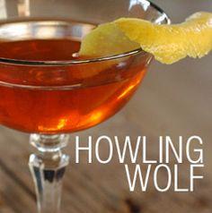 Howling Wolf              1¾ oz SIA Scotch Whisky         ½ oz Carpano Antica Sweet Vermouth         ½ oz Aperol         ¼ oz Walnut Liquer         ¼ oz Laphroaig 10 yr         2 Dashes of Amargo Chuncho Bitters         Garnish: Lemon Twist