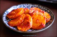 Spanish Potatoes - Angry Potatoes - Patatas Bravas recipe