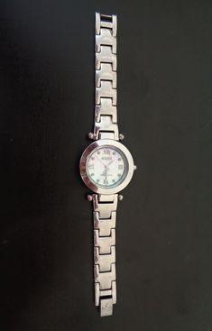 Vintage Signs, Vintage Items, Vintage Watches Women, Rolex Watches, Bracelet Watch, Vintage Jewelry, Stamp, Sterling Silver, Accessories