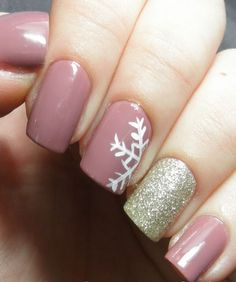 Perfect Winter Nail Art More More