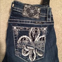 NWT Miss Me jeans! NWT Miss Me jeans! Signature slim boot - 34 inch inseam. Next day shipping. Smoke free home. No trades or holds. Price is firm. Miss Me Jeans Boot Cut