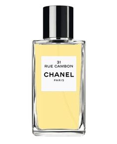 Les Exclusifs de Chanel 31 Rue Cambon Chanel for women (iris, patchouli, bergamot, ylang-ylang, labdanum, green notes, rose, black pepper).