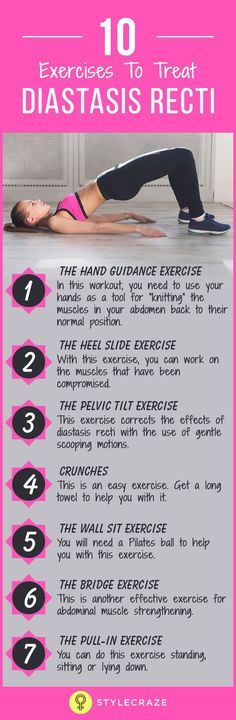 a6d0f2aa52 10 Best Diastasis Recti Exercises You Can Do At Home To Strengthen Your Core