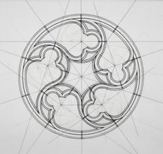 This Architect Fuses Art and Science by Hand Illustrating the Golden Ratio,Courtesy of Rafael Araujo Geometry, Geometry Tattoo, Gothic Design, Sketch Book, Geometry Art, Drawings, Geometric Drawing, Islamic Art Pattern, Design Art