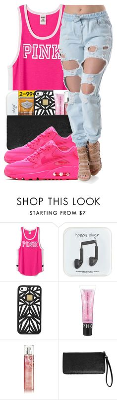 """Back To Back ~ 7/29/15"" by glow-pop ❤ liked on Polyvore featuring moda, J.Crew, Hervé Léger, Sephora Collection, Avenue, NIKE, women's clothing, women's fashion, women y female"