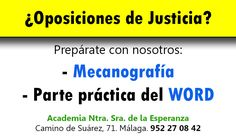 ¡Te ayudamos a conseguirlo! www.acesperanza.com #oposicionesjusticia