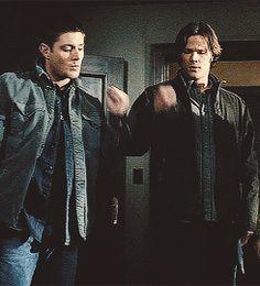 Dean Always Loses Whenever He Plays Rock, Paper, Scissors with Sam (he always chooses scissors).
