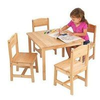 Shop Kids Table & Chair Sets at SensoryEdge.Children's furniture sized just for boys & girls at affordable prices. Sturdy wood construction & easy