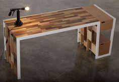 Письменный стол R70 Коллекция Recylced by Kann Design | дизайн Nicola Santini, Pier Paolo Taddei