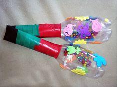 Pet Şişeden Eğlenceli Marakas Yapımı Canim Anne  http://www.canimanne.com/pet-siseden-eglenceli-marakas-yapimi.html