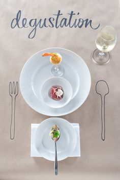 Degustation by @azbcreative