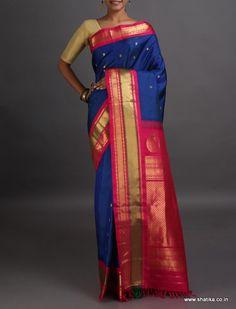 Lavanya Hot and Cool Fine Bootis Real Zari #GadwalSilkSaree