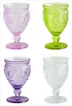 Unique glassware