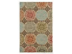 Rizzy Home Eden Harbor Rectangular Beige Area Rug
