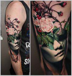 shoulder tattoo artistic