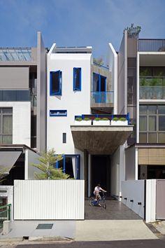 Casa en Poh Huat Road / Envelope Architects