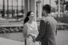Jen + Patrick's Wedding - Oakland, California - This wedding is Oakland at it's best. Jen + Patrick got ready at the Waterfront Hotel, a maritime themed hotel in Jack London Square (Oakland's histor...