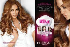 Jennifer Lopez L'Oreal Sublime Mousse celebrity endorsements