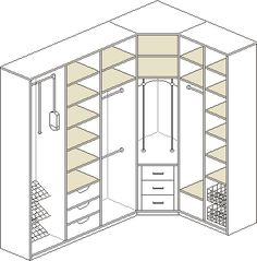 Feb 2020 - -Workspace*Arbeitsraum Corner Closet Layout 66 Ideas Teaching Your Child How To Track Helps Early Literacy Developing tracking skills is key to your child's literacy development. Tracking in reading i Corner Closet, Corner Wardrobe, Wardrobe Room, Wardrobe Design Bedroom, Master Bedroom Closet, Bathroom Closet, Wardrobe Ideas, Dressing Room Closet, Dressing Room Design