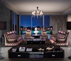 Wholesale furniture New York Modern Furniture Stores, Furniture Showroom, Furniture Outlet, Contemporary Furniture, Interior Design Colleges, Interior Design Courses, Best Interior Design, Brown Furniture, Cool Furniture