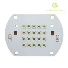 20w IR 850nm LED Emitter 14~17v 700~750mA - Kiwi Lighting - Infrared IR 850nm LED Emitter, 20 watt,  VF 14~17V, IF 700~750mA, Radiant 1800-2000mW,     + $19.99