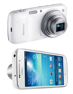 Samsung Galaxy S4 Zoom  To create the new Galaxy S4 Zoom, Samsung took an Android 4.2-powered smartphone and grafted it onto a 16-megapixel point & shoot with a 10X zoom. With this thing, you might be able to win Instagram without buying followers. Available late 2013.