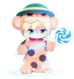 Ilustrações de animes por Haribote (tarao)