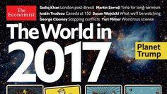 """Nowa okładka The Economist 2017 – """"proroctwa"""" okultystów?"""