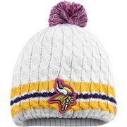 Minnesota Vikings New Era Women's 2014 Breast Cancer Awareness Knit Hat With Pom – White It's Saturday in real life, but it's still Black Friday at Fanatics! Save 25% + free shipping on orders over $50! Use code: BLKFRI