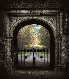 The gatehouse at Lanhydrock in Bodmin, Cornwall by Roger Fleet on Flickr