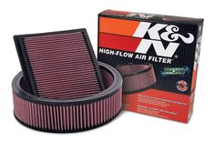 A K&N air filter is a no brainer. It filters the air better than a paper filter, improves flow and lasts for the life of my jeep.  http://www.autoanything.com/air-filters/kn-air-filters
