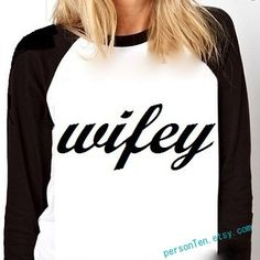 Wifey Tee! Adorable raglan baseball shirt