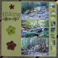 Hiking - Scrapbook.com