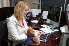 Rocky is helping Kelsey with an assignment.