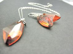 Crystal Bridesmaid Jewelry Set for Weddings by AliChristineJewelry, $40.00