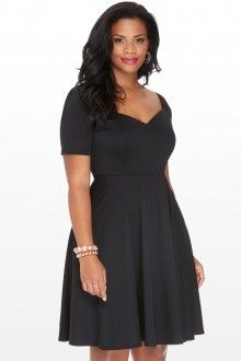 Plus Size Kendall Off the Shoulder Dress