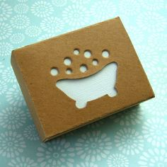 Too cute! This would be a great idea to have your logo design on the box