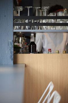 Aces of Space - Doi Doi I Hospitality Design & Branding / The creation of a visual Hospitality Design, Antwerp, Murals, Wine Rack, Futuristic, Color Pop, Crisp, Color Schemes, Flow