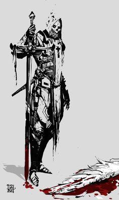 Redeemer, Tibor Sulyok on ArtStation at https://www.artstation.com/artwork/8Zxdq